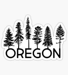My Heart Belongs in Oregon Sticker