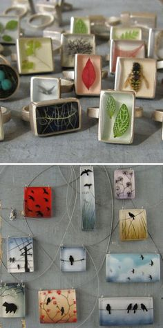 resin jewelry: fernworks, renegade craft fair san francisco