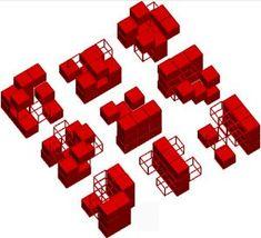 Autonomous Neutral Objects: The Combinatorial Models of La . Module Architecture, Architecture Program, Concept Architecture, Architecture Design, Rem Koolhaas, Parc La Villette, Zaha Hadid, Parque Linear, Bernard Tschumi