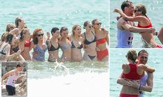 Tom Hiddleston and Taylor Swift frolic in the sea with celeb friends // British actor, 35, declared his love for the 26-year-old US popstar on Fourth of July vacation in Rhode Island. New couple shared their holiday weekend with Gigi Hadid, Karlie Kloss, Ruby Rose and Uzo Aduba. Pregnant actress Blake Lively, 28, and her husband Ryan Reynolds, 39, also joined the gal posse for a sea dip. Taylor and Tom have been an item since June 15, 2016 when their tryst was revealed.