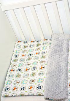 """Kolekcja """"Zwierzęta z lasu"""" wykonana z najwyższej jakości bawełny premium oraz oryginalnego minky Shannon Fabrics."""