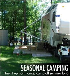 Seasonal Camping at River View Campground & Canoe Livery