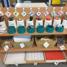 Writing area Ks1 Classroom, Classroom Layout, Classroom Organisation, Classroom Activities, Classroom Ideas, Writing Station, Writing Area, Preschool Writing, Writing Activities