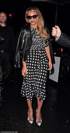 Beyoncé Mixes her prints