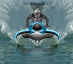 Dolphin Hydrofoil personal watercraft for the ultimate thrill seekers