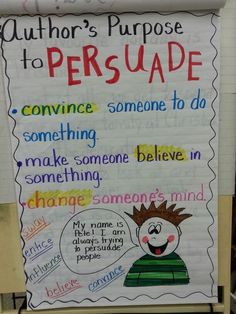 This anchor chart activity is an example of critical literacy in the classroom. Here, students will learn how to critically analyze texts, more specifically, what the author is trying to say. This activity will help students understand that different texts portray different messages and as an audience we must be critical the meaning or purpose of these texts. These skills also apply to media literacy as media messages are always intended at a specific audience and may not always be accurate.