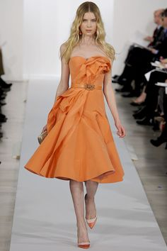 Chanel 2013, orange mood