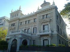 Madrid  antiguo. Antiguo palacio. Hoy sede de la Fundación Rafael del Pino, Paseo de La Castellana