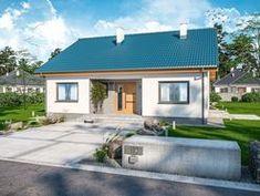 DOM.PL™ - Projekt domu ARP TANIS CE - DOM AP1-69 - gotowy koszt budowy Building Plans, Home Fashion, Mansions, House Styles, Outdoor Decor, Plane, Home Decor, Houses, Airplane