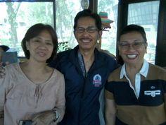 with Net Oriondo, Art Feria & Elaine Dichupa at Mira Mar
