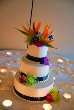 Our Bird of Paradise cake.