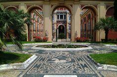 Genoa, Italy.  http://www.worldheritagesite.org/sites/genoa.html