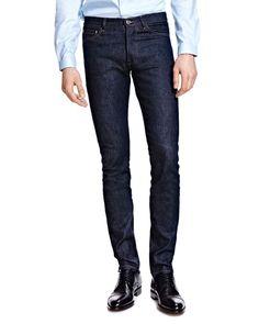 The Kooples Slim Fit Jeans in Blue Brut