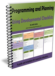 Learn how to use developmental checklists in early childhood and home daycare settings effectively as part of a planning cycle. Editable templates included - from the popular play based learning blog Mummy Musings and Mayhem