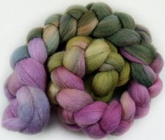 May Queen Polwarth wool top for spinning and felting  4.5