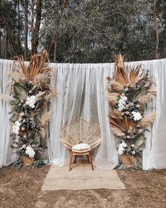 wedding arch These Fab Boho Wedding Altars, Arches and Backdrops that make us swoon 10 Wedding Backdrop Design, Boho Wedding Decorations, Wedding Backdrops, Boho Backdrop, Wedding Backdrop Photobooth, Rustic Backdrop, Engagement Decorations, Altar Decorations, Wedding Ideas