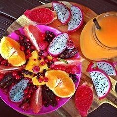 Diese exotischen Früchte sorgen für jede Menge Abwechslung. Aber wer hat schon die Zeit, sich jeden Tag solch einen Obstteller zu machen?