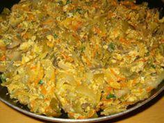 Receita Legumes à brás, de Argas - Petitchef