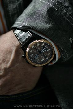 Watch from a collection at Maurice de Mauriac, Swiss luxury watches for men and women.