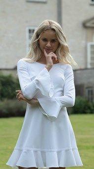 Confirmation Dresses, White Dress, Clothes, Shoes, Fashion, White Dress Outfit, Outfit, Clothing, Zapatos