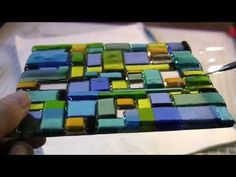 Transparency Overlays -- A Fused Glass Forte - YouTube