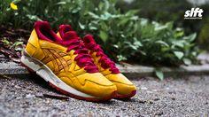 Der Gel-Lyte V ''Premium Nubuk'' von asics.  #asics #gellyteV #glV #premium #nubuk #sneaker #soulfoot #slft