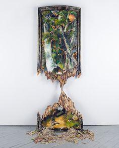 Valerie Hegarty, Teetering Trees, 2009