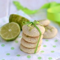 Lime Cookies (Eggless) by cooks-hideout #Cookies #Lime