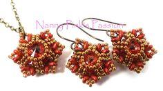 Tutorial ~ Hexx Earrings in 2 Sizes + Pendant