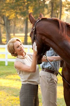Diane Lane as Penny Chenery - Secretariat is a wonderful film, uplifting and beautiful from start to finish.