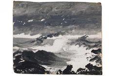 Peder Balke's The Tempest (c. 1862)