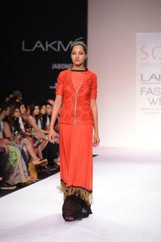 LFW Day 1, designer Sougat Paul