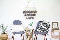This DIY Boho Tassel Chandelier Will Light Up Your Home | Hunker