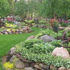 I've got plenty of field stone...I think I know my next yard project. :-)