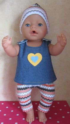 Sewing Doll Clothes, Sewing Dolls, Doll Clothes Patterns, Baby Born Clothes, Bitty Baby Clothes, Girl Dolls, Baby Dolls, Baby Size Chart, Toddler Dolls