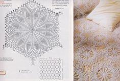 La Bottega delle meraviglie di Gabry: Schemi per copriletto