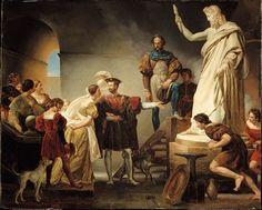 Francis I in Benvenuto Cellini's Studio Alexandre-Évariste Fragonard Francis I, 12th Book, Italian Renaissance, Renoir, Betta, Art World, Les Oeuvres, Oil On Canvas, Literature