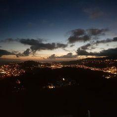 #MountVictoriaLookout #autohash #Wellington #NewZealand #Wellington #sunset #dawn #dusk #evening #sky #sun #travel #traveling #visiting #instatravel #instago #moon #city #landscape #water #outdoors #light #nature #fog #dark #winter #skyline #silhouette
