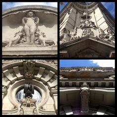 Portal decoration near Southwark bridge London #architecture