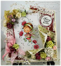Whimsy Stamps / Wee Stamps - Posey by Iris Wiechmann