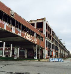 Packard Plant, Detroit, April 2015