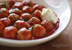 Making for dinner tomorrow - healthy kid friendly meal. They get meatball subs and while I get meatballs and fresh steamed veggies with couscous. YUM!