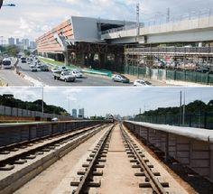 Pregopontocom Tudo: Metrô de Salvador - Linha 2 avança e já está com 55% das obras concluídas...
