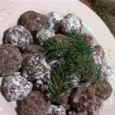 Cocoa Rum Balls