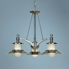 New England Collection 3-Light Dinette Chandelier - on sale at lamps plus