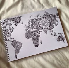 Image de world, drawing, and art