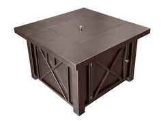 Decorative Hammered Fire Pit with Lid for $279.99