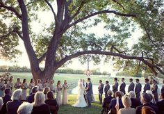 Such a dreamy outdoor altar! Photo by Sarah Kate Photographer. Lighting from Beyond. #wedding #altar #outdoor #chandelier