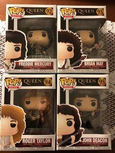 Only legends are funko John Deacon, Queen Art, I Am A Queen, Brian May, Geeks, Queen Meme, Rock Poster, Roger Taylor, Ben Hardy