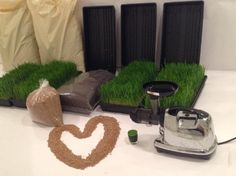 Organic Wheatgrass Growing Kit- Fully Stocked Kit (Trays, Seed, Soil, Instructions & More) by:…